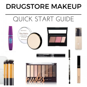 The Drugstore Makeup Quick Start Guide