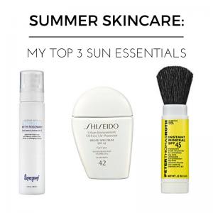 Protect Yoself: Top 3 Summer Skincare Items
