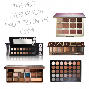 The Best Eyeshadow Palettes in the Game