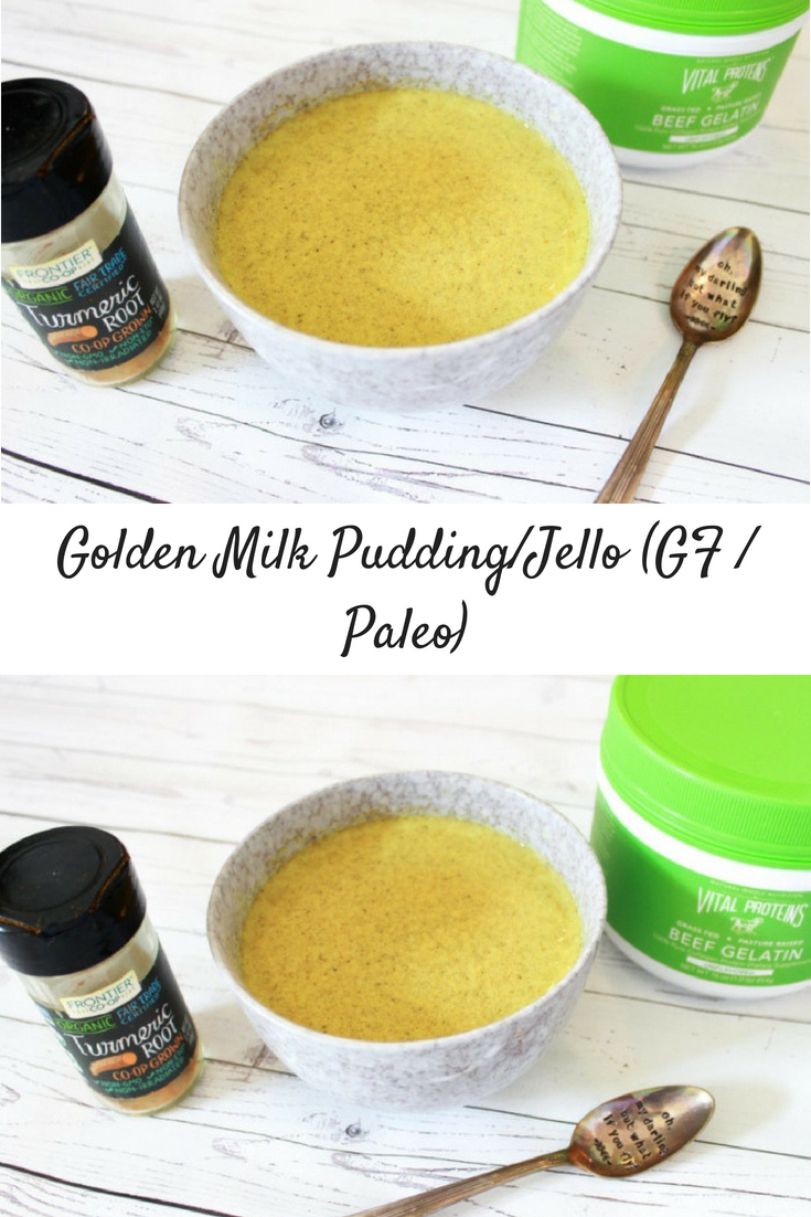 Golden Milk Pudding / Jell-O (Gluten-free / Paleo / AIP-Friendly)