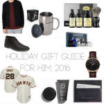 Holiday Gift Guide for HIM, 2016