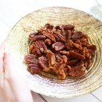 Cinnamon Spiced Roasted Nuts (Paleo/Vegan)