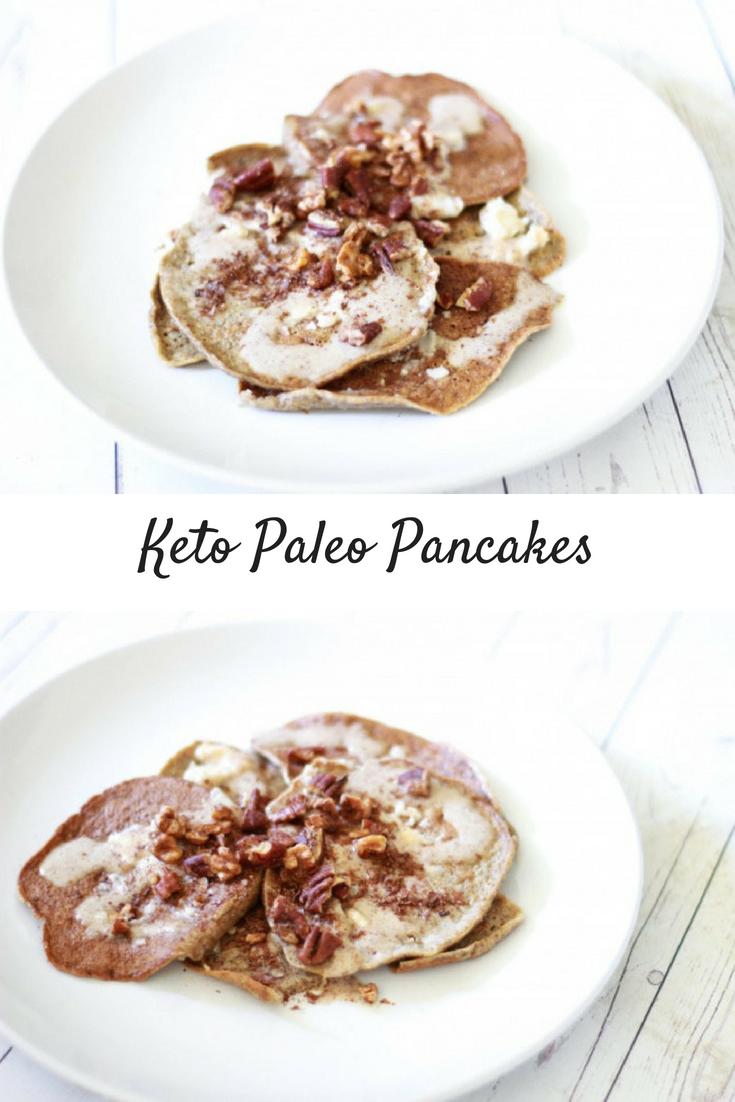 Keto Gut-Healing Paleo Pancakes