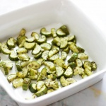 Oven Roasted Cucumbers (Paleo / Vegan / Whole 30)