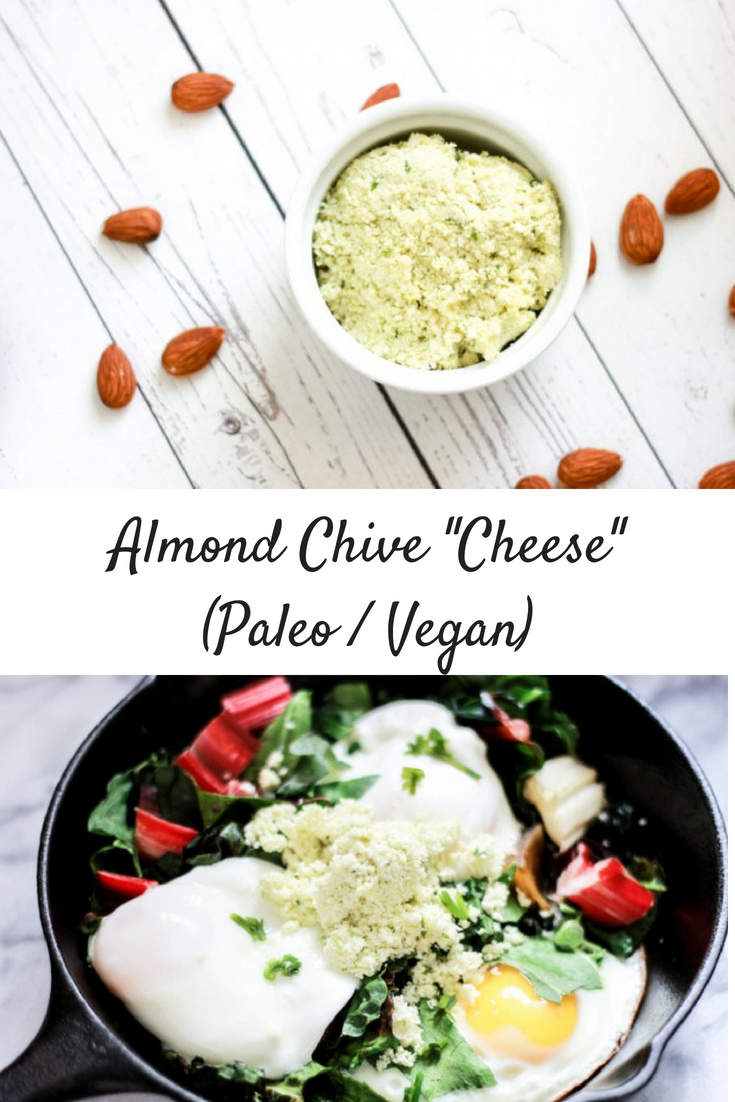 "Almond Chive ""Cheese"" (Vegan / Paleo)"