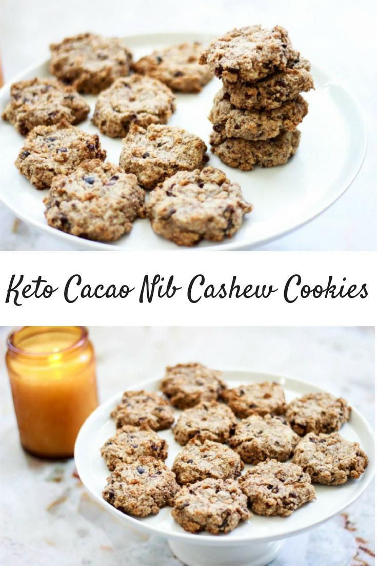 Mind Pump Ahoy! Keto Cacao Nib Cashew Cookies (Paleo / Vegan)