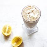 Sugar-Free Lemon Bar Smoothie (Paleo / Vegan / Keto)