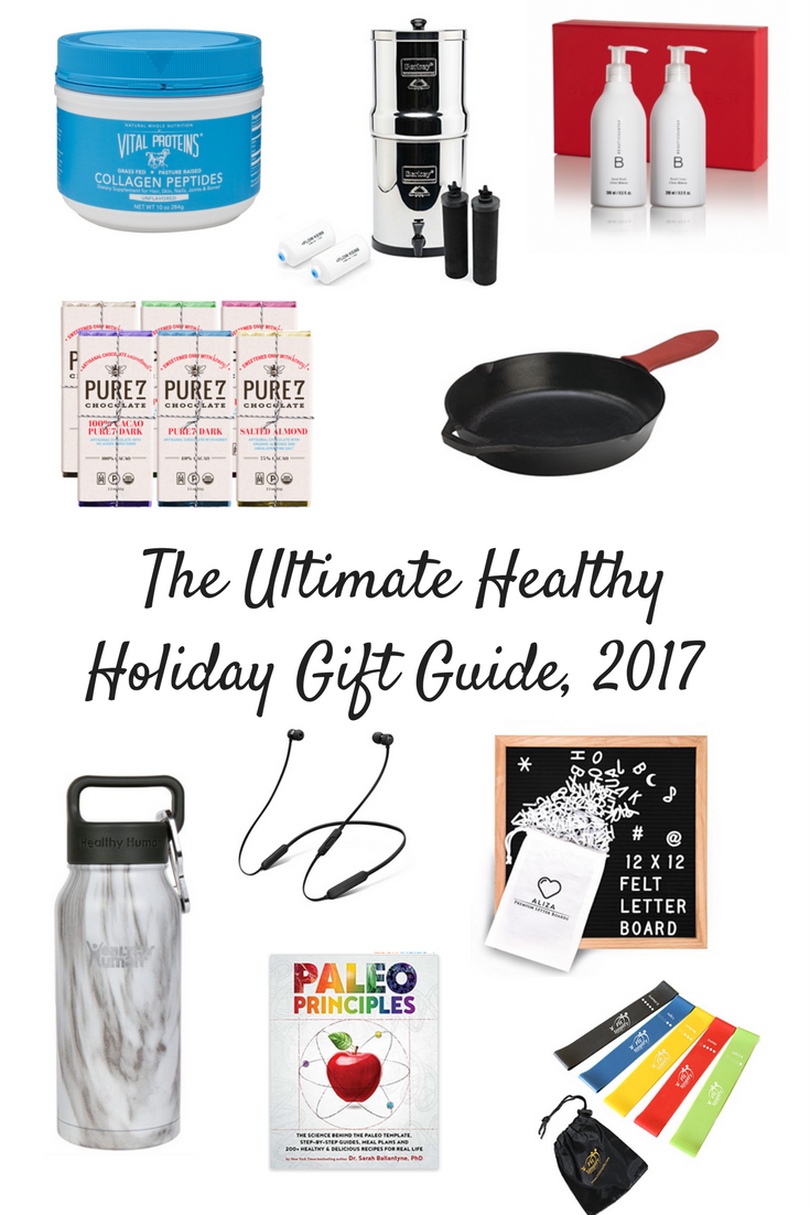 The Ultimate Healthy Holiday Gift Guide, 2017 | Christina Rice Wellness