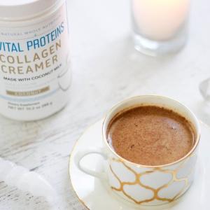 Caffeine-Free Dirty Coconut Chai Latte