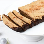 Paleo / Keto Gingerbread with Cocoa-Spiced Frosting