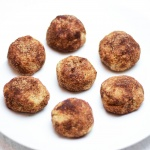 Paleo Chocolate Almond Butter Filled Snickerdoodles