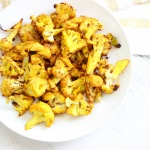 Lovely Roasted Cauliflower (Paleo / Vegan)