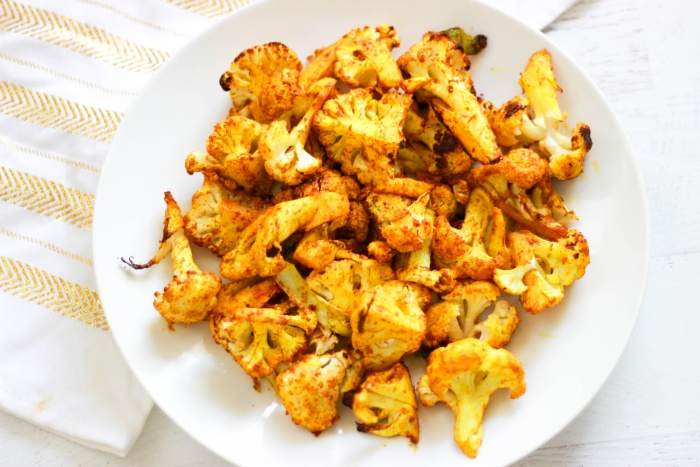 Lovely Roasted Cauliflower