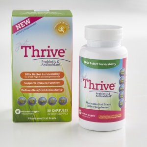 "Just Thrive Probiotic (Use code ""CHRISTINA"" for 15% off!)"