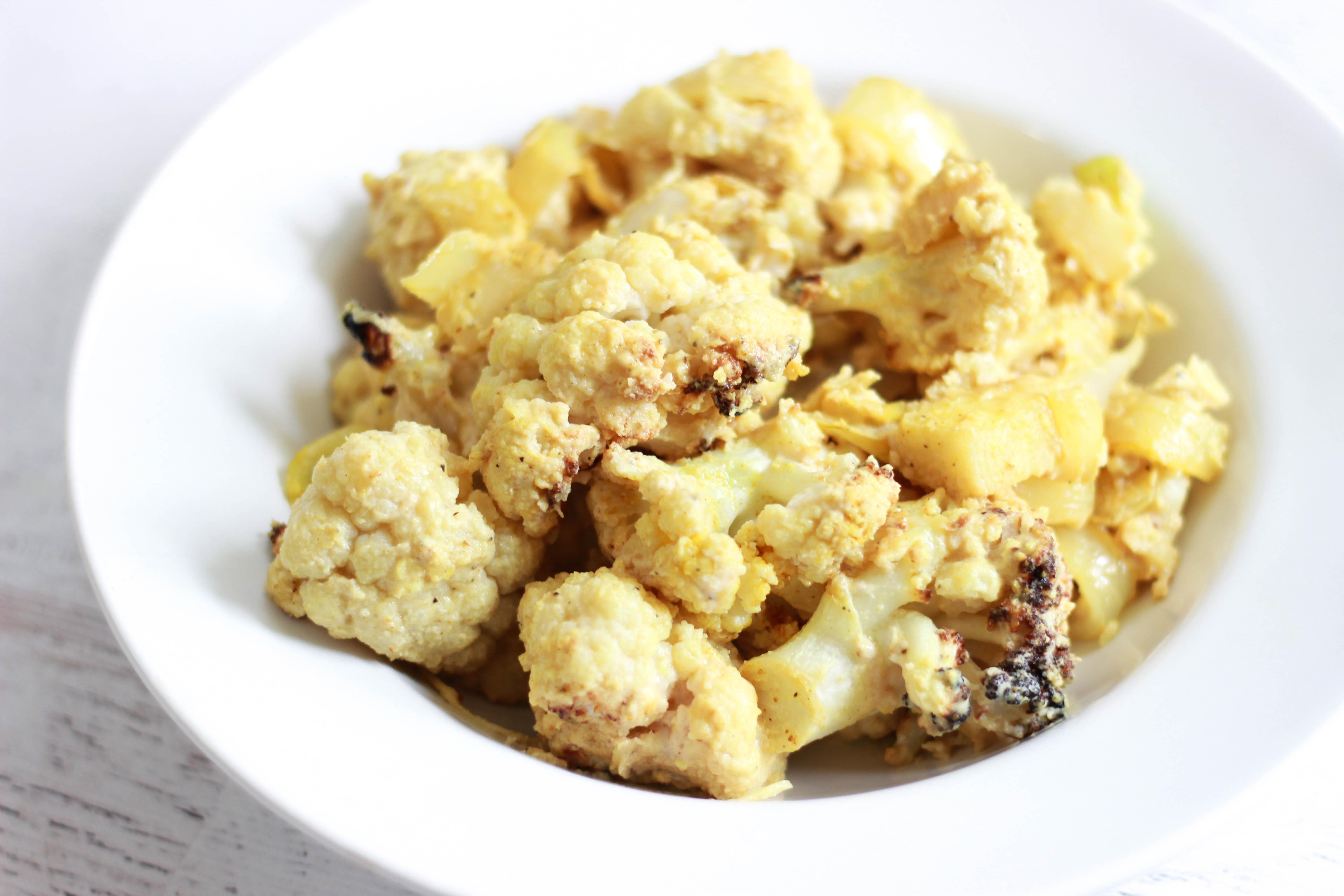Tahini Cauliflower (Paleo / Vegan)