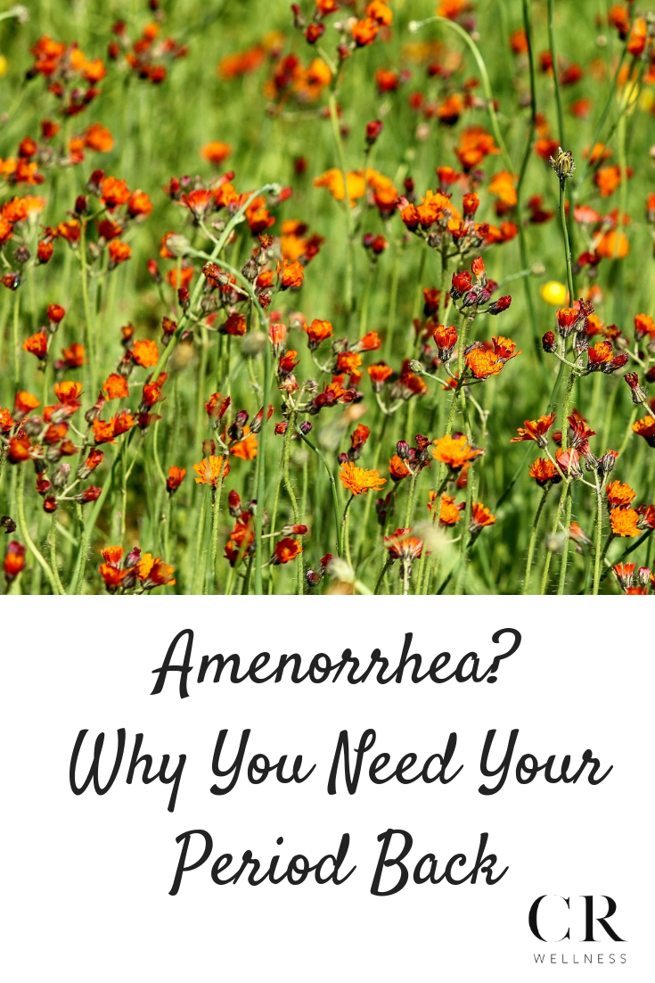 Amenorrhea? Why You Need Your Period Back