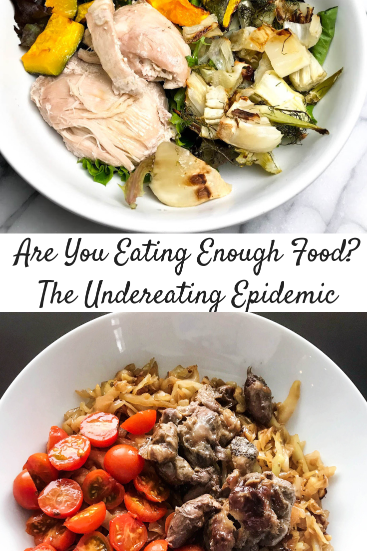 Are You Eating Enough Food? The Undereating Epidemic
