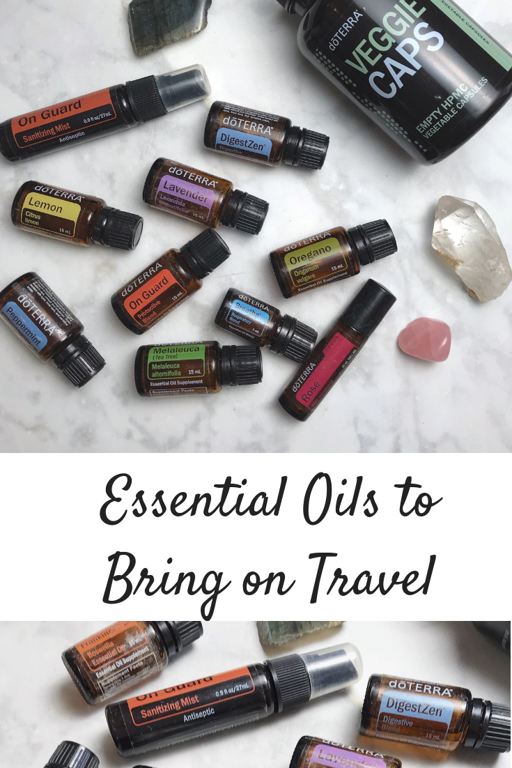 Essential Oils to Bring on Travel