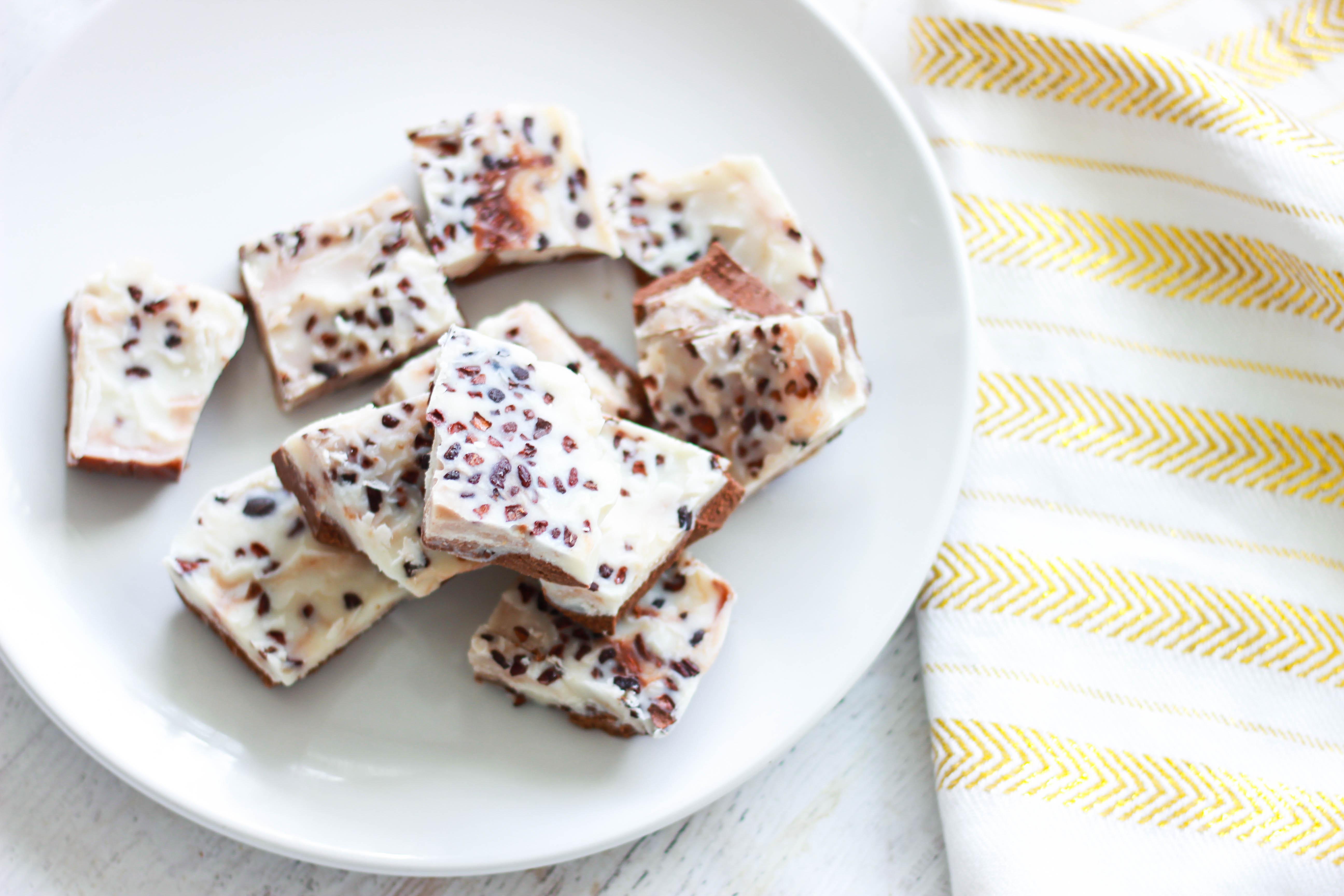Sugar-Free Peppermint Bark (Paleo / Keto)
