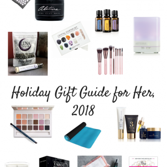 Holiday Gift Guide for Her, 2018