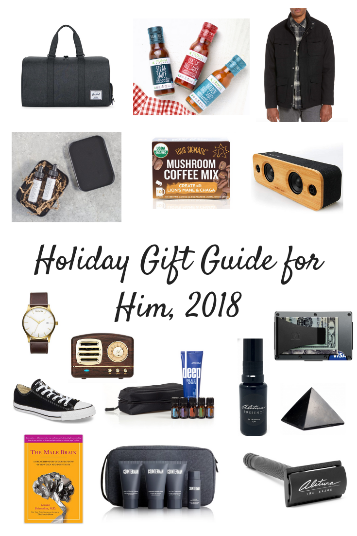 Holiday Gift Guide for Him, 2018