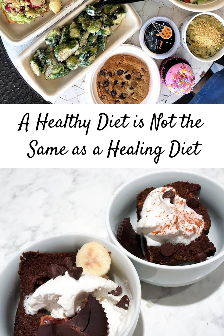 A Healthy Diet is Not the Same as a Healing Diet