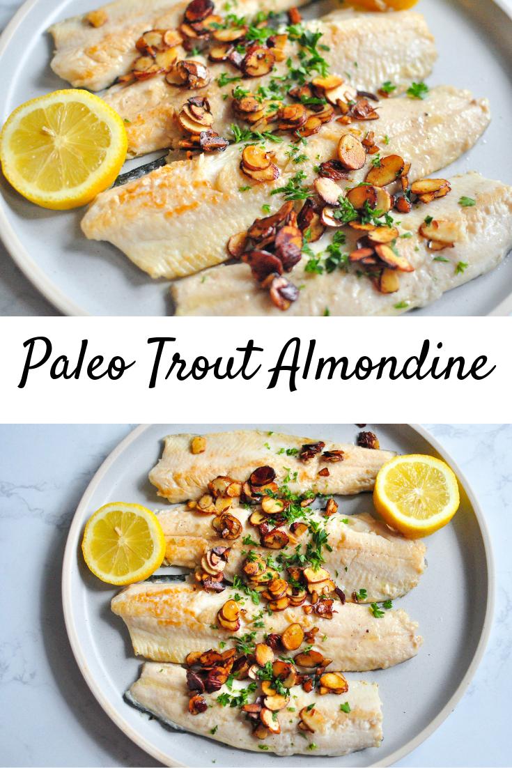 Paleo Trout Almondine