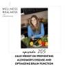 205: Julie Wendt on Preventing Alzheimer's Disease and Optimizing Brain Function