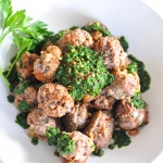 Paleo Chimichurri Meatballs (Become a Member for Access)