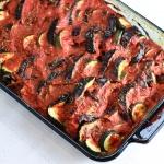 Paleo / Vegan Eggplant Zucchini Marinara (Low FODMAP)