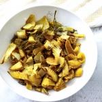 Paleo / Vegan Turmeric Roasted Fennel