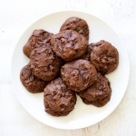 Paleo Chocolate Tahini Cookies