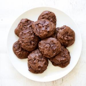 Paleo Chocolate Tahini Cookies