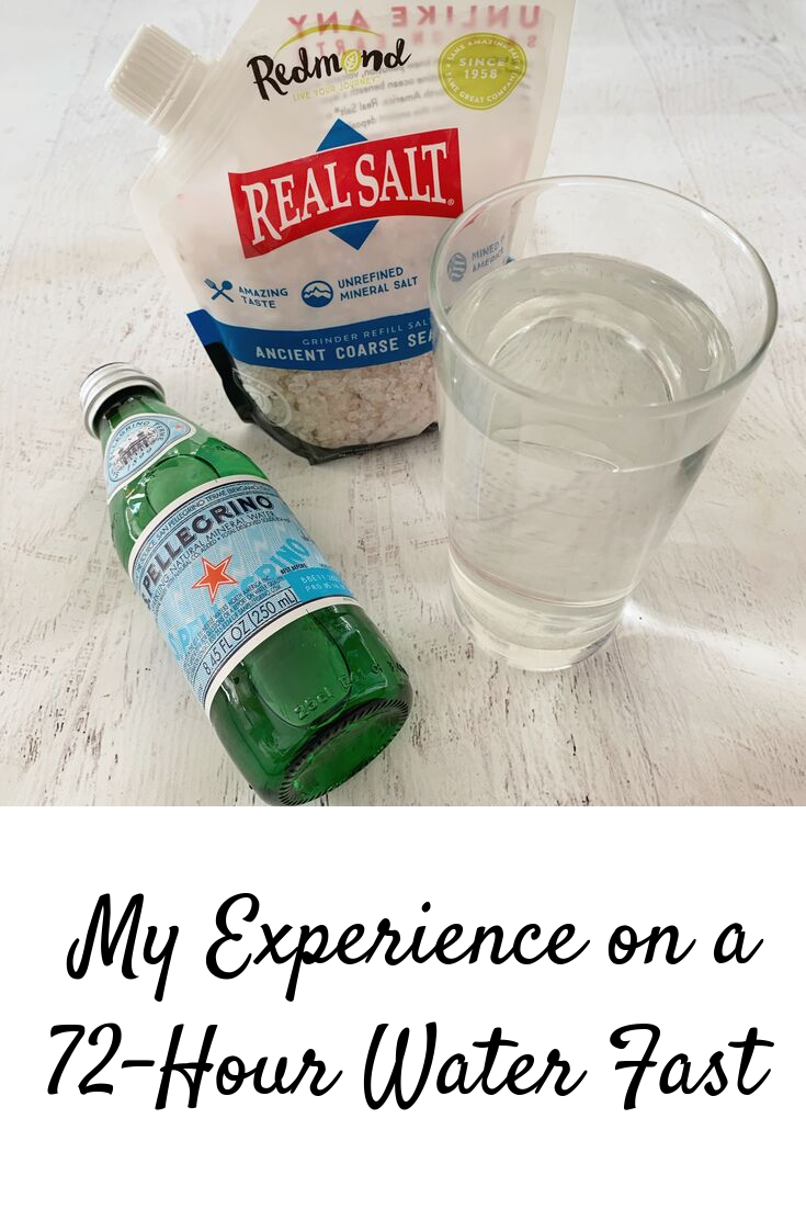 My Experience on a 72-Hour Water Fast | Christina Rice Wellness