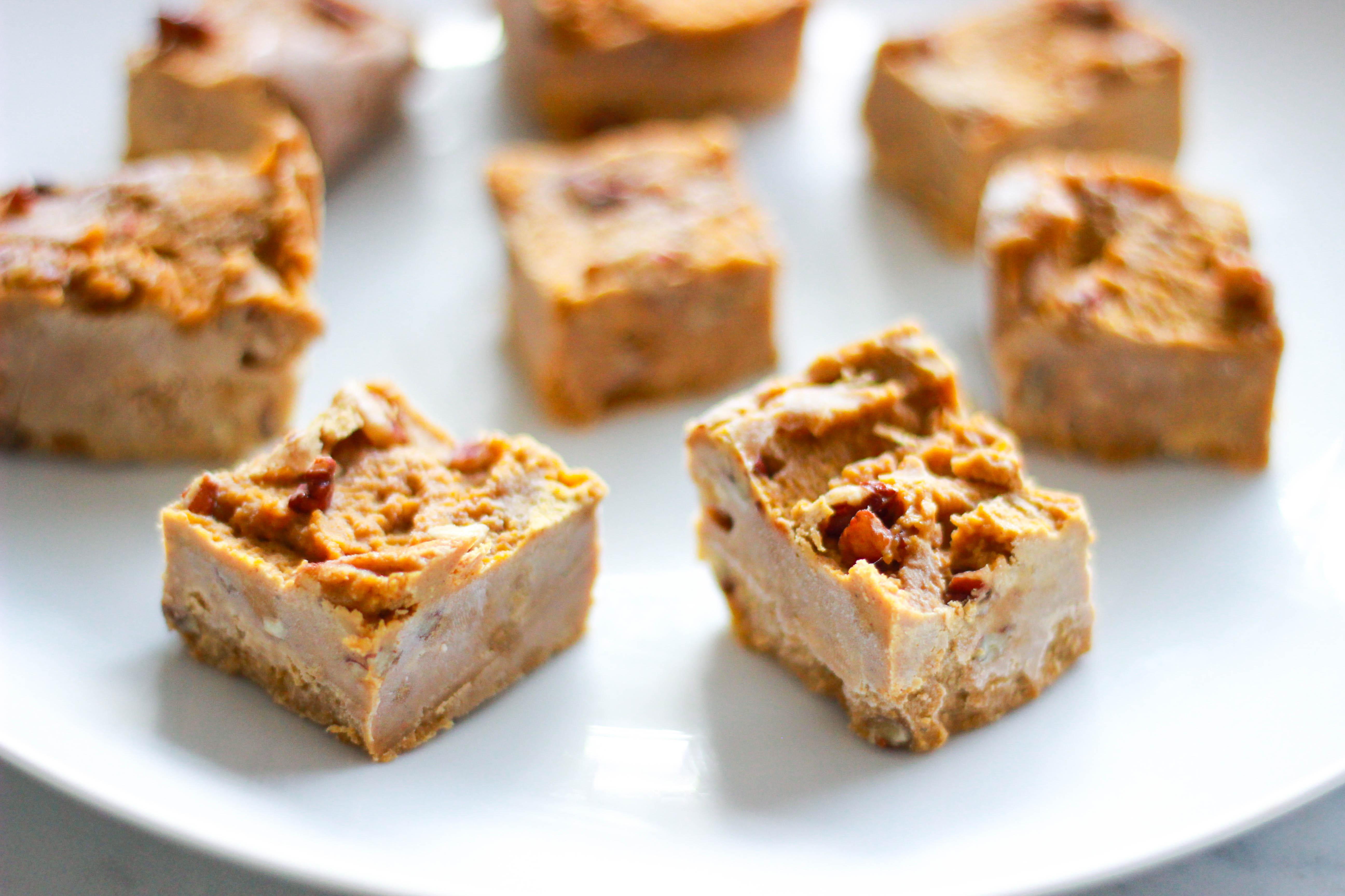 Sugar-Free Pumpkin Fudge (Paleo / Vegan)