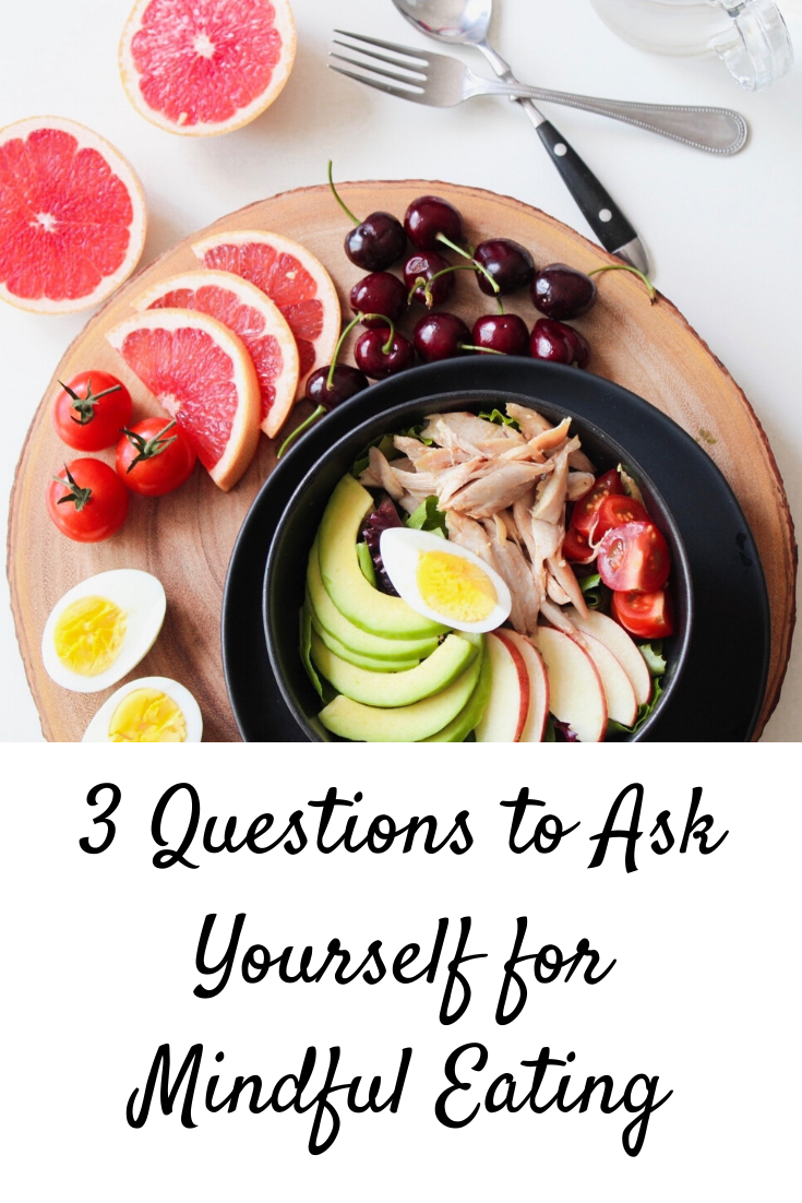 3 Questions to Ask Yourself for Mindful Eating
