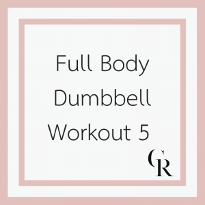 Full Body Dumbbell Workout 5 (Become a Member for Access)