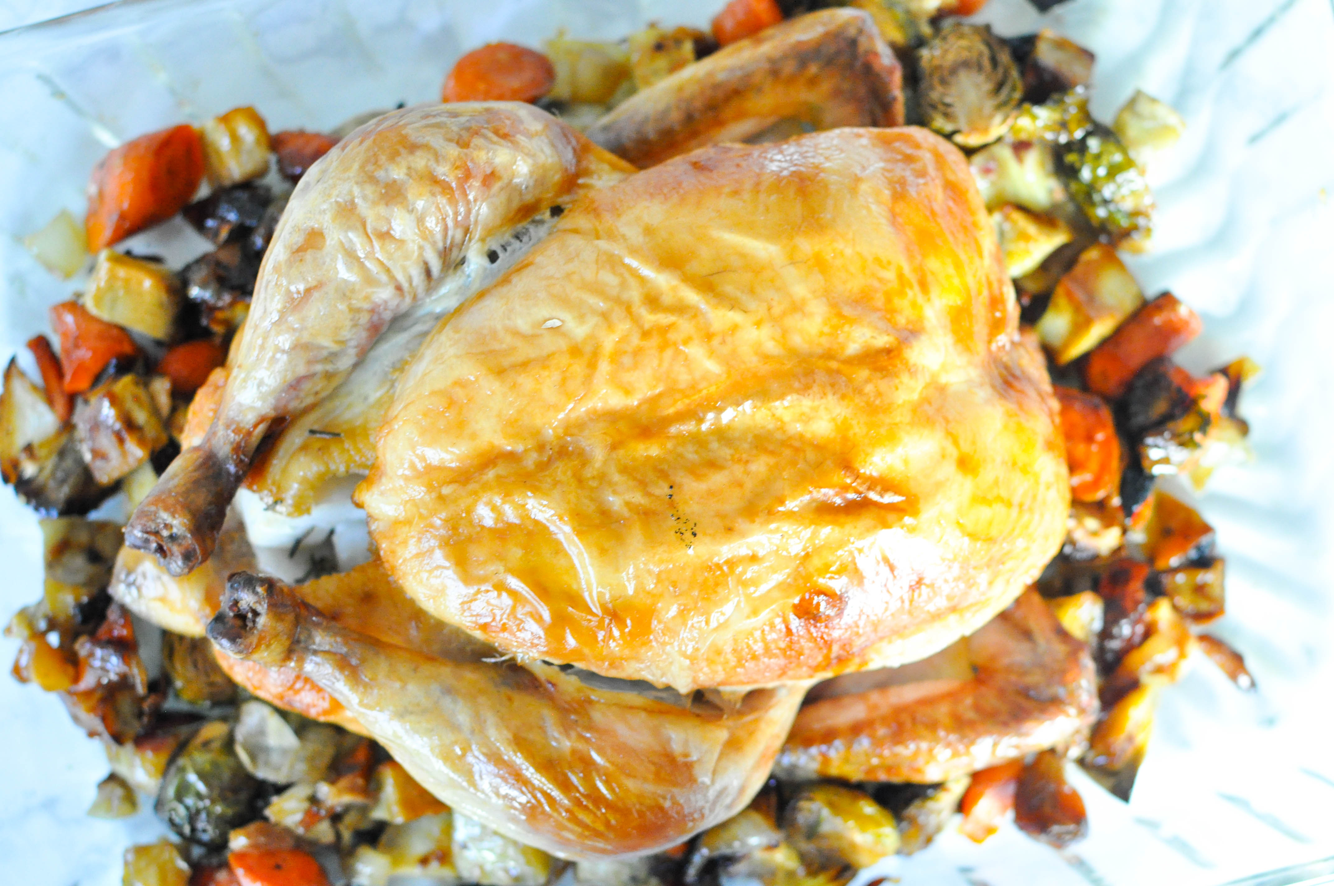 Paleo Whole Roast Chicken