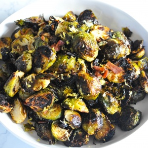 Best-Ever Crispy Brussels Sprouts (Paleo / Keto) (Become a Member for Access)
