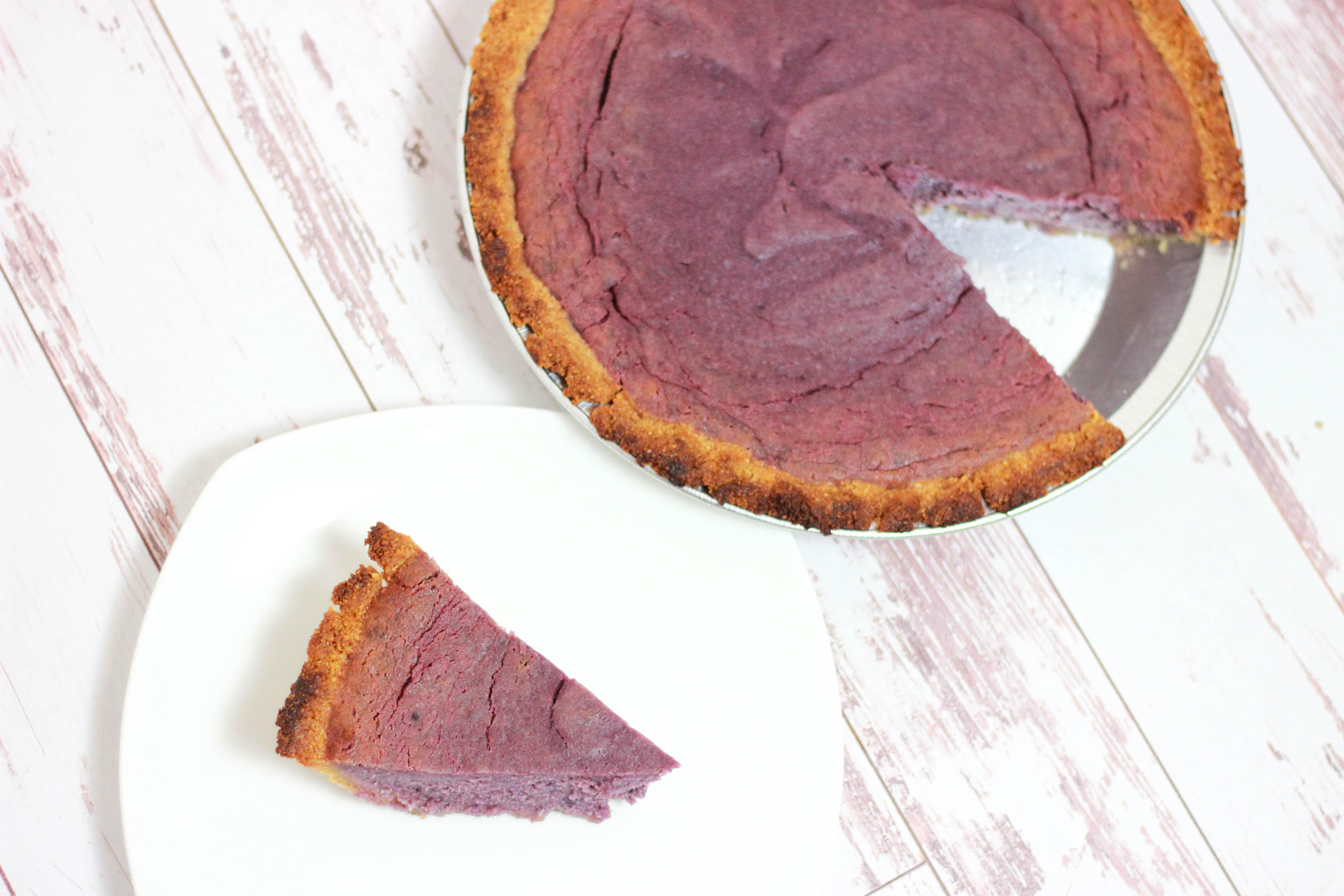 Paleo Purple Sweet Potato Pie