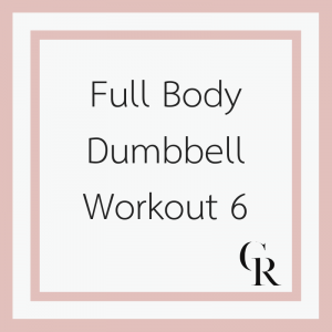 Full Body Dumbbell Workout 6 (Become a Member for Access)