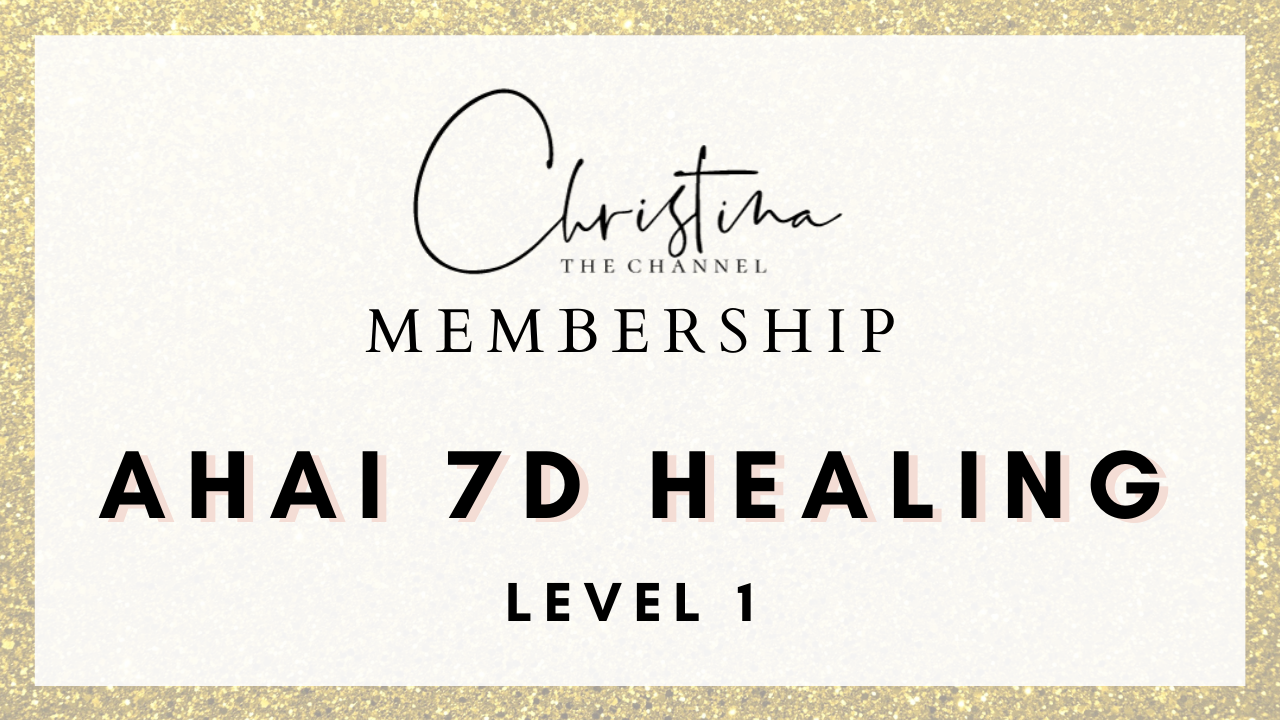 Ahai 7D Energy Healing Training