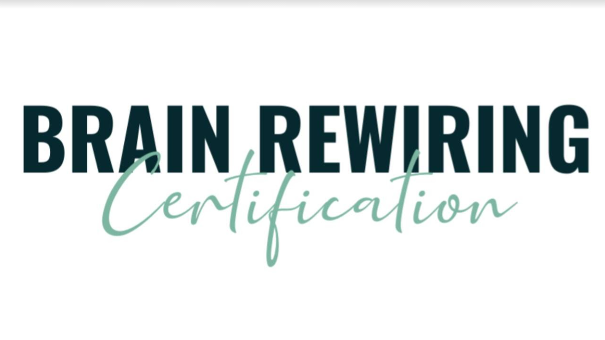 Brain Rewiring Certification