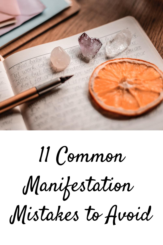 Manifestation Mistakes